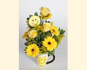 Philadelphia Flowers - Smile Mug - Domenic Graziano Flowers & Gifts, Inc.