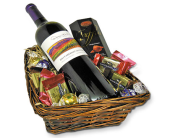 Taste of Wine & Chocolate Basket in Cleves OH, Nature Nook Florist & Wine Shop