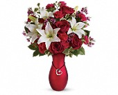 Heartstrings Bouquet by Teleflora in Newton MA, Busy Bee Florist