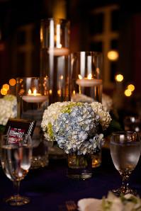 Hydrangeas by Candlelight in Alpharetta, Georgia, Flowers From Us