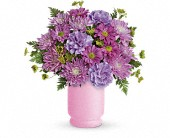 Poetry In Purple Bouquet by Teleflora in Oakland CA, Lee's Discount Florist