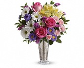 Smile And Shine Bouquet by Teleflora in Rush NY, Chase's Greenhouse