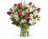 Spring Romance Bouquet in Etobicoke ON, La Rose Florist