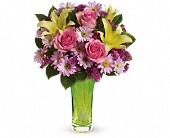 Teleflora's Bring On Spring Bouquet in Burbank CA, The Enchanted Florist