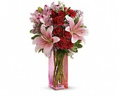 Teleflora's Hold Me Close Bouquet in Etobicoke ON, La Rose Florist