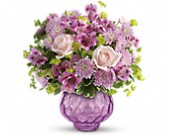 Teleflora's Lavender Chiffon Bouquet in Brook Park OH, Petals of Love