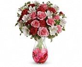 Teleflora's Rosy Posy Bouquet in New Britain CT, Weber's Nursery & Florist, Inc.