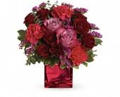 Teleflora's Ruby Rapture Bouquet in Milwaukee WI, Belle Fiori
