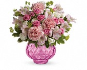 Teleflora's Simply Pink Bouquet in Brook Park OH, Petals of Love
