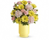 Teleflora's Bright Day Bouquet in Brook Park OH, Petals of Love