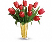 Tempt Me Tulips Bouquet by Teleflora in Vandalia MO, Vandalia Florist