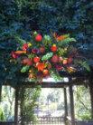 Tropical Garden Wedding  in Alpharetta, Georgia, Flowers From Us