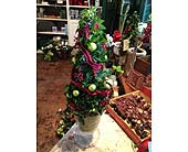 Christmas Arrangement in Napa CA, Beau Fleurs Napa Valley Flowers