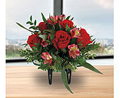 Half Dozen Rose Bowl in Dallas TX, In Bloom Flowers, Gifts and More
