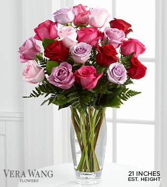 FTD-Vera Wang-Capitvating Color in Woodbridge VA, Lake Ridge Florist