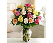 San Diego Flowers - 12 , 18  or 24 MIXED ROSES  $69.99 - - Precious Petals
