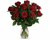 My True Love Bouquet with Long Stemmed Roses in Longview TX, Casa Flora Flower Shop