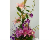 Lavender Love in Hyde Park NY, The Green Oak Florist