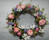 Silk Grapevine Wreath Spring/Summer in Portsmouth OH, Kirby's Flowers