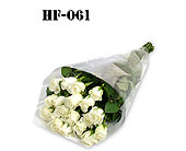 18 Roses - White - Wrapped in Cello in Fairfield CT, Sullivan's Heritage Florist