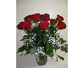 Standard 12 red roses in Blue Bell PA, Country Flower Shoppe