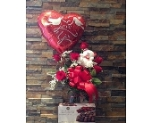 ROSES, BALLOON, TEDDY, AND CHOCOLATES in Staten Island NY, Eltingville Florist Inc.