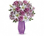 Teleflora's Lavender Beauty Bouquet in San Francisco CA, Pinelli's Flowerland