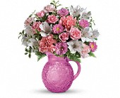 Sparks Flowers - Teleflora's Pour On Pink Bouquet - The Florist At Moana