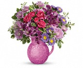 Teleflora's Pretty As A Pitcher Bouquet in Kennebunk ME, Blooms & Heirlooms ��
