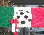 italian flag in New Rochelle, New York, Enchanted Flower Boutique