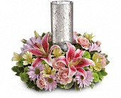 Just Delightful Centerpiece by Teleflora in Greenville, South Carolina, Expressions Unlimited