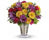 Teleflora's Fancy That Bouquet in Lake Worth FL, Belle's Wonderland Orchids & Flowers