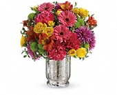 Teleflora's Pleased As Punch Bouquet in Santa Barbara CA, Kaleidoscope Flowers