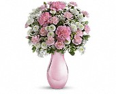 Teleflora's Radiant Reflections Bouquet in Burlington WI, gia bella Flowers and Gifts