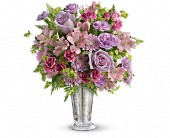Teleflora's Sheer Delight Bouquet in Burnaby BC, Lotus Flower & Terra Plants