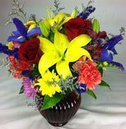 JOYFUL COLORS by Rubrums in Ossining NY, Rubrums Florist Ltd.
