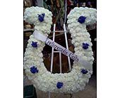 Custom Funeral Piece - Indianapolis Colts in Wake Forest, North Carolina, Wake Forest Florist