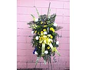 Funeral Spray - Fishing Theme in Wake Forest, North Carolina, Wake Forest Florist