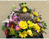 A good laugh arrangement in San Diego CA, The Floral Gallery