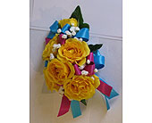 Party Fun Corsage in Hales Corners, Wisconsin, Barb's Green House Florist
