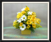 Sunny Days Bouquet in Tyler TX, The Flower Box