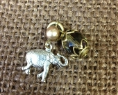 Lenny & Eva - Elephant Charm in Colorado City TX, Colorado Floral & Gifts