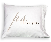 Pillowcase - P.S. I Love You in Colorado City TX, Colorado Floral & Gifts