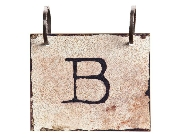 Words To Live By - Letter B in Colorado City TX, Colorado Floral & Gifts