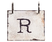 Words To Live By - Letter R in Colorado City TX, Colorado Floral & Gifts