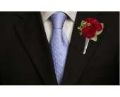King's Red Rose Boutonniere in Dallas TX, In Bloom Flowers, Gifts and More