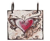 Words To Live By - Heart w/ Wings Tile in Colorado City TX, Colorado Floral & Gifts