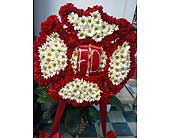 Maltese Cross for Fire Department in Chattanooga, Tennessee, Chattanooga Florist 877-698-3303