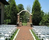 Hydrangea arch in Hilliard, Ohio, Hilliard Floral Design