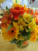 Orange and Yellow in Hilliard, Ohio, Hilliard Floral Design